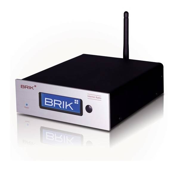 Internet tuner from BRIK AUDIO.